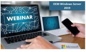 Вебінар по OEM Windows Server 2019!