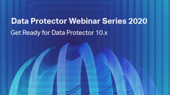 Вебинар «Get Ready for Data Protector 10.x»
