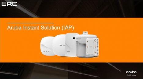 Вебинар Aruba Instant — Best Practice по настройке и поиска проблем беспроводных сетей