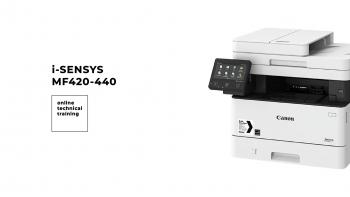 Технический тренинг по принтерам Canon серии i-SENSYS MF 420-440