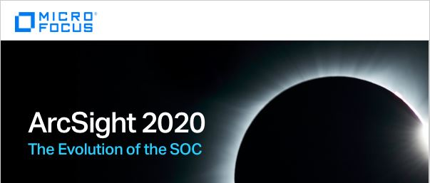 Вебінар «ArcSight 2020: The Evolution of the SOC»