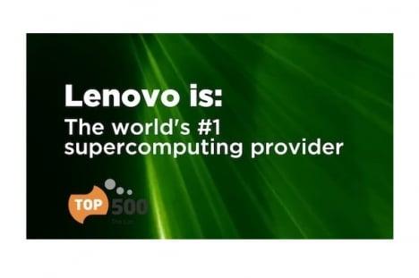 Lenovo – постачальник суперкомп'ютерів №1 у світі