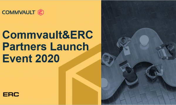 Commvault&ERC Partners Launch Event 2020