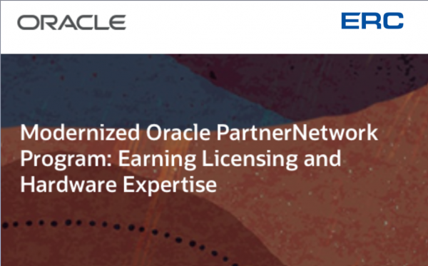 Вебінар «Modernized Oracle Partner Network: екпертиза у треку Licenses та Hardware»