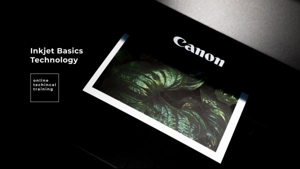 Базовый курс по струйных технологиях печати продукции Canon