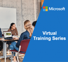 MICROSOFT'S VIRTUAL TRAINING SERIES IN NOVEMBER – CHOOSE YOUR TOPIC AND REGISTER!