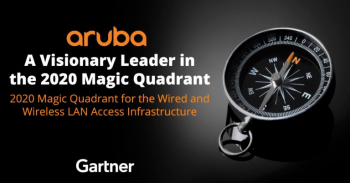 ARUBA IS A LEADER OF THE GARTNER MAGIC QUADRANT FOR 15 YEARS IN A ROW