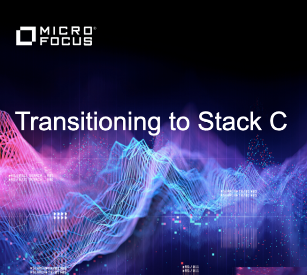 EXCLUSIVE ONLINE MEETING FOR MICRO FOCUS PARTNERS – TRANSITIONING TO STACK C