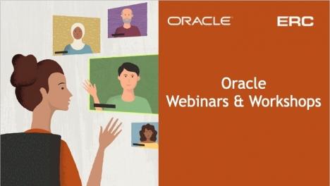 Oracle Workshops & Webinars Schedule