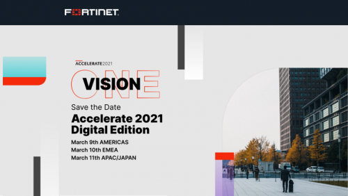 Оnline forum Fortinet Accelerate 2021 Digital Edition is open!