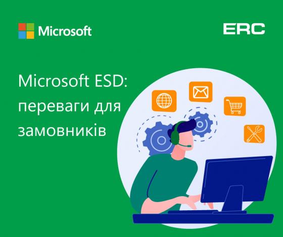 Microsoft ESD: переваги для замовників