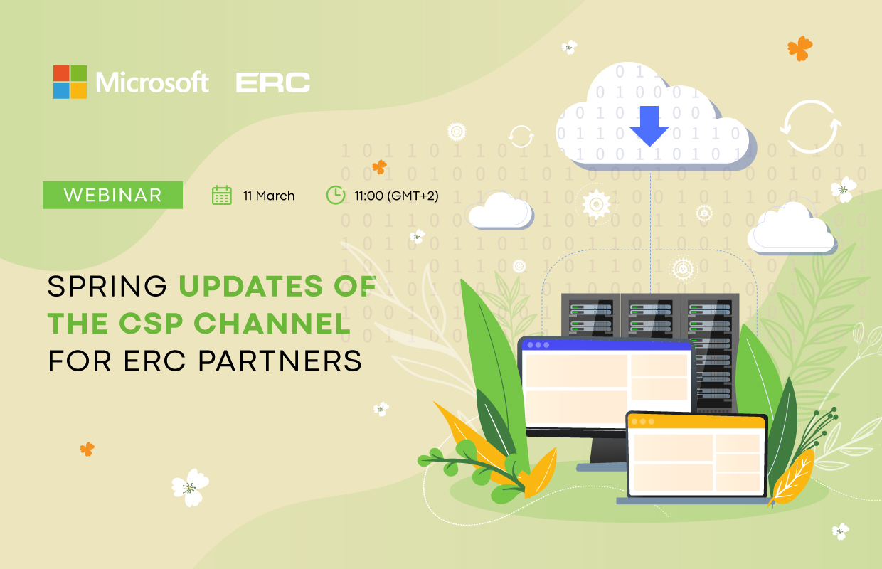 """Spring CSP channel updates for ERC partners"" webinar"