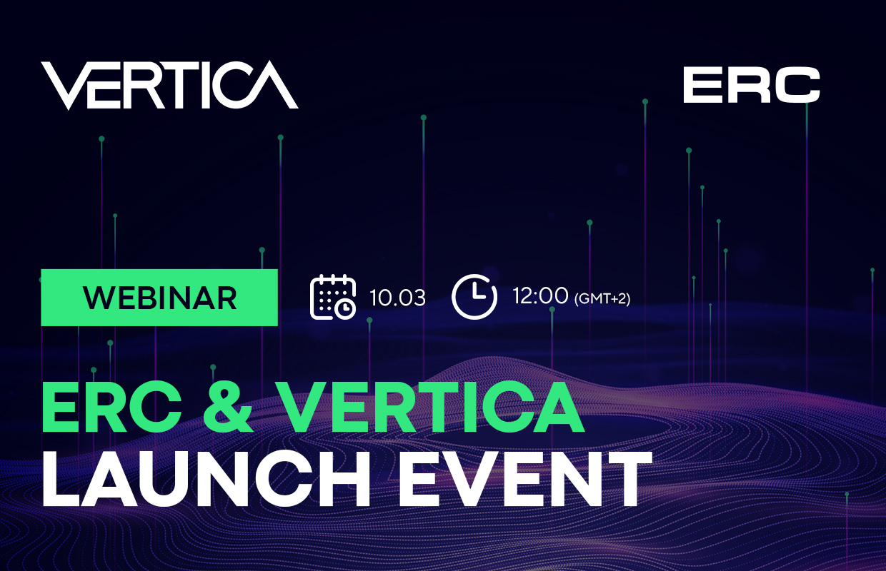 ERC &  Vertica — launch event
