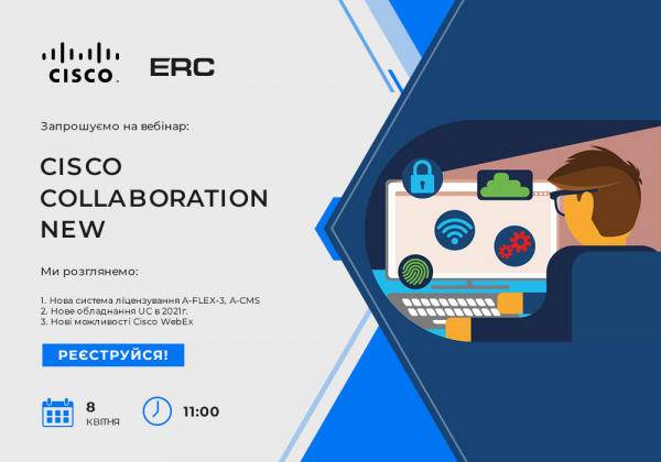 Welcome to the Cisco Collaboration New webinar!