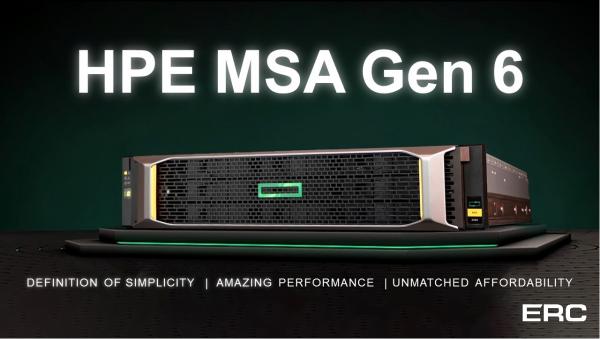 """HPE MSA 2000 Gen6: the best solution for small business"" webinar"